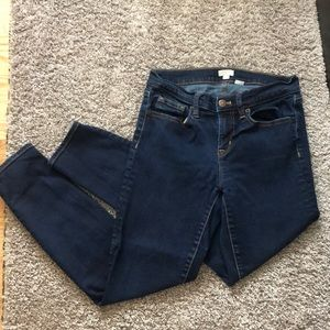 Jcrew Dark Wash Jeans